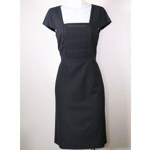 ANN TAYLOR BLACK CAP SLEEVE DRESS SIZE 10 PETITE